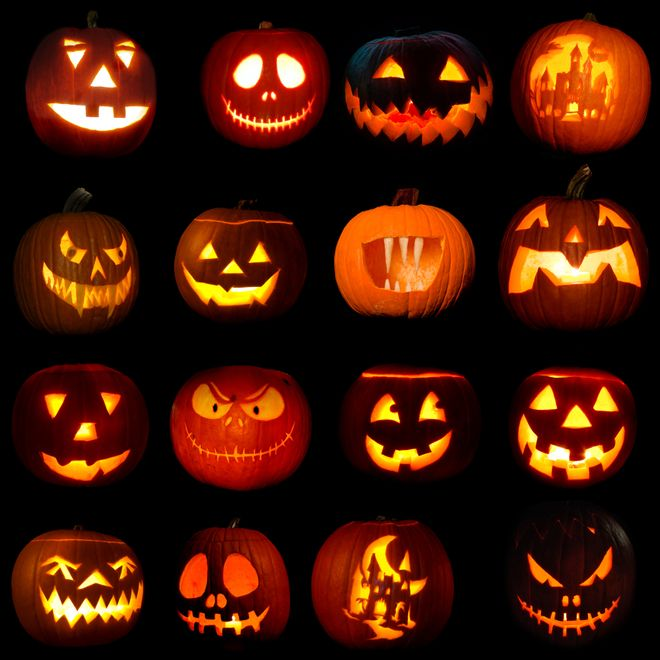 Citrouille d\u0027 Halloween  31 idées pour sculpter une
