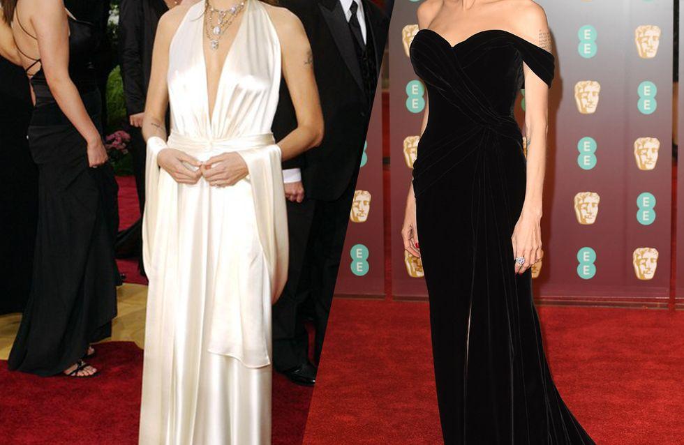 Retour sur l'évolution mode d'Angelina Jolie