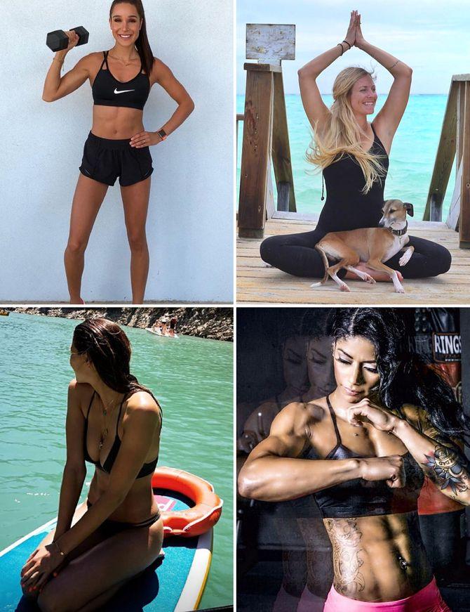 Coachs, fitgirls, yogis : qui sont les sportives qui nous influencent sur Instagram