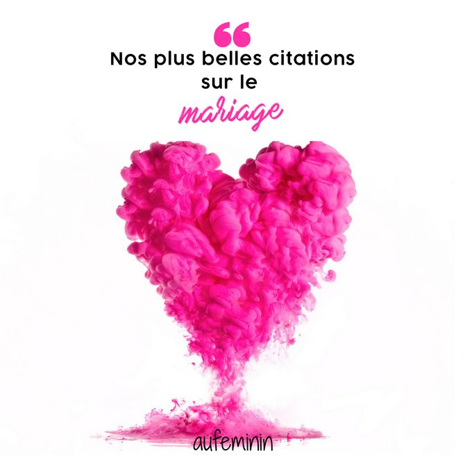 Citations mariage