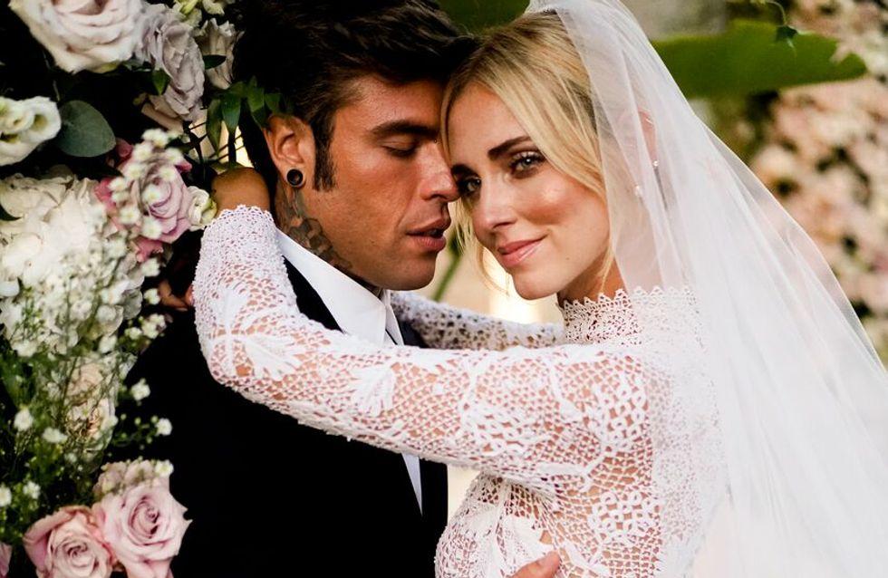 Así fue la espectacular boda de Chiara Ferragni y Fedez