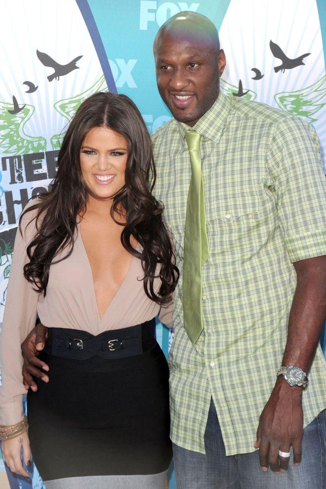 Khloé Kardashian und Lamar Odom