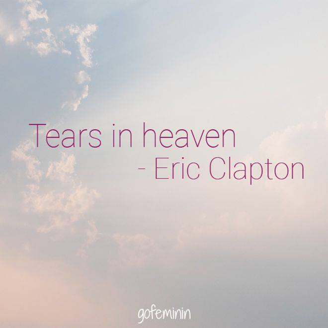 Tears In Heaven, Eric Clapton