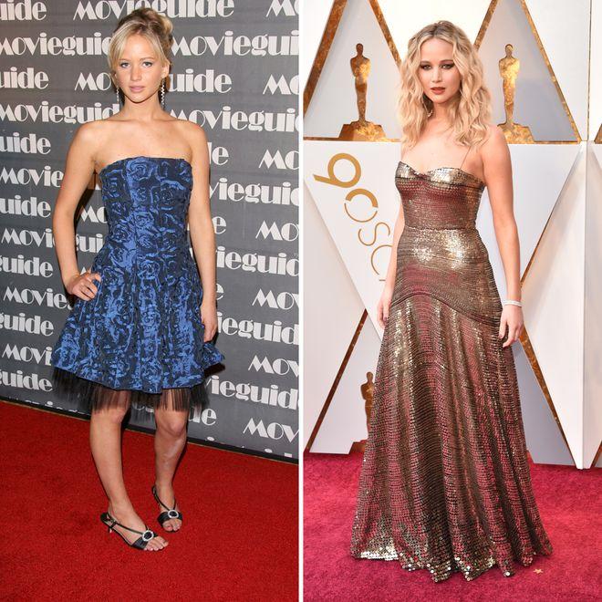 So hat sich der Style von Jennifer Lawrence entwickelt