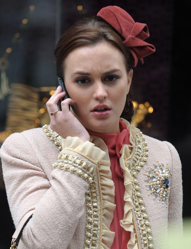 Leighton Meester a.k.a. Blair Waldorf