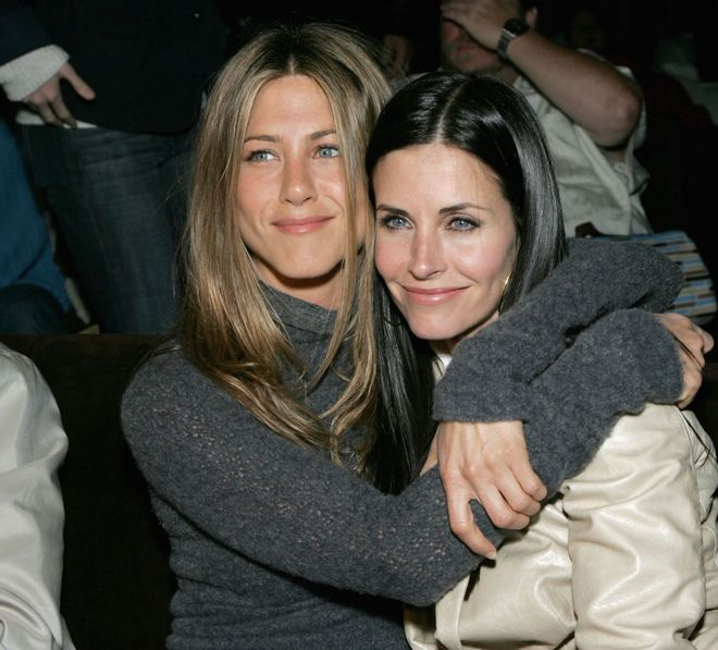 Jennifer Aniston und Courtney Cox