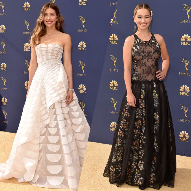 The most beautiful looks from the Emmy 2018 Awards