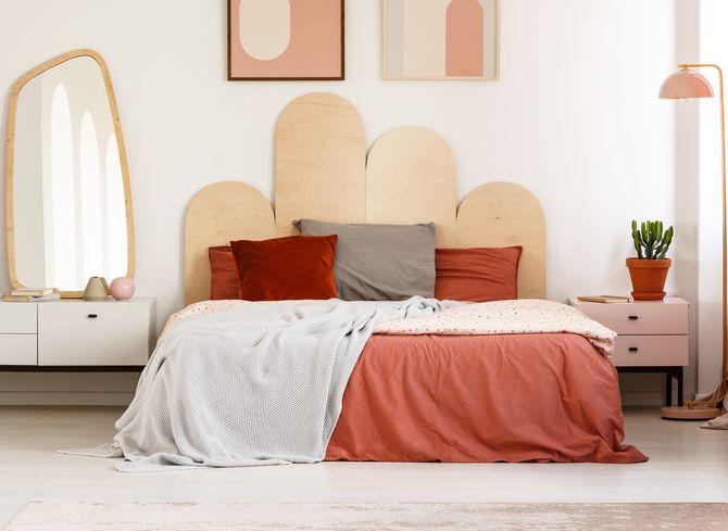 Nos idées de tête de lit en bois pour une déco nature