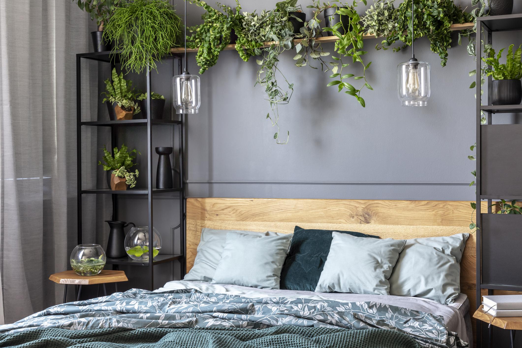 18 modèles de tête de lit en bois pour une déco nature : Album