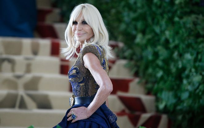 The most beautiful photos of Donatella Versace