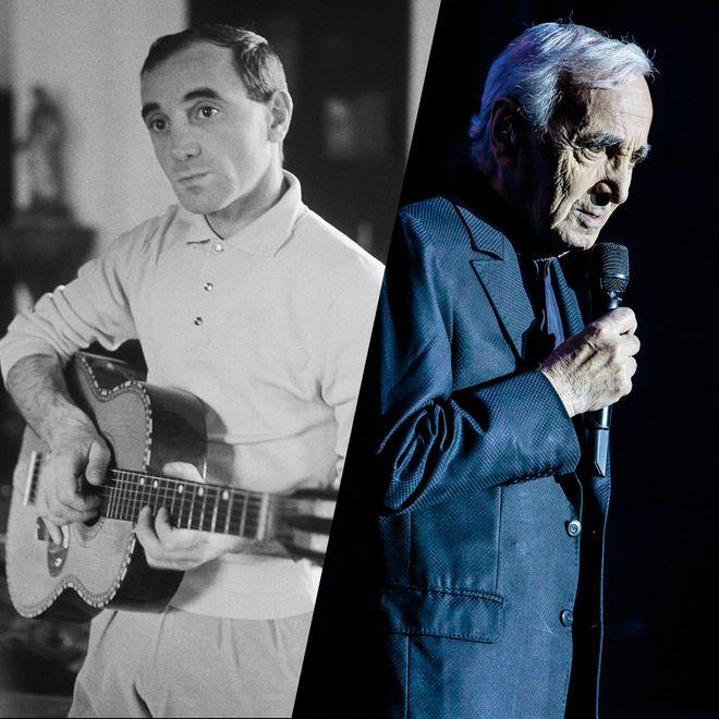 Retour en images sur l'icône de la chanson française, Charles Aznavour