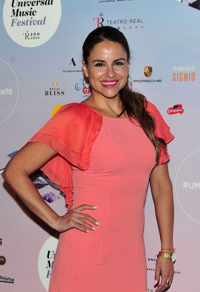 Mónica Hoyos en 2018