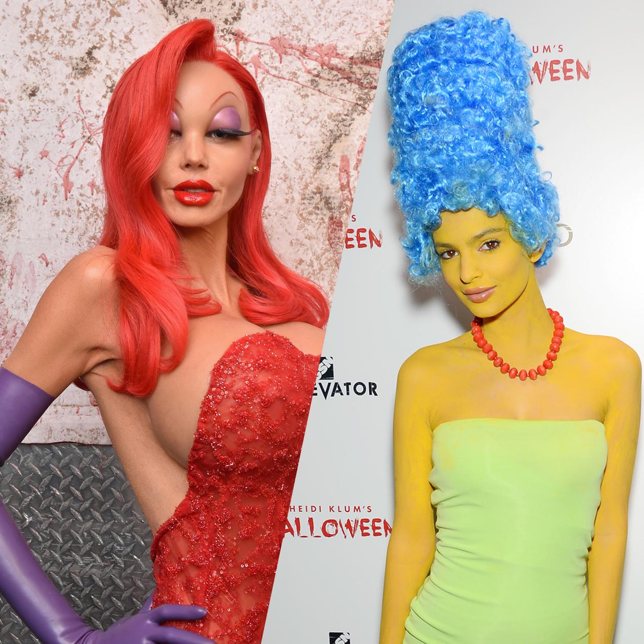Halloween : les costumes de stars les plus fous