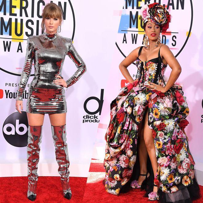 I look delle star agli American Music Awards 2018