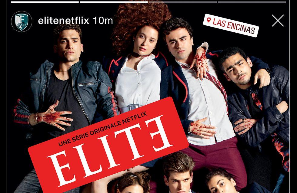 """""""Élite"""" : que vaut la nouvelle série Netflix avec les acteurs de la Casa De Papel ?"""