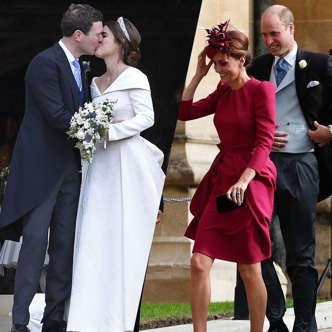 Défilé de stars au mariage de la princesse Eugenie d'York