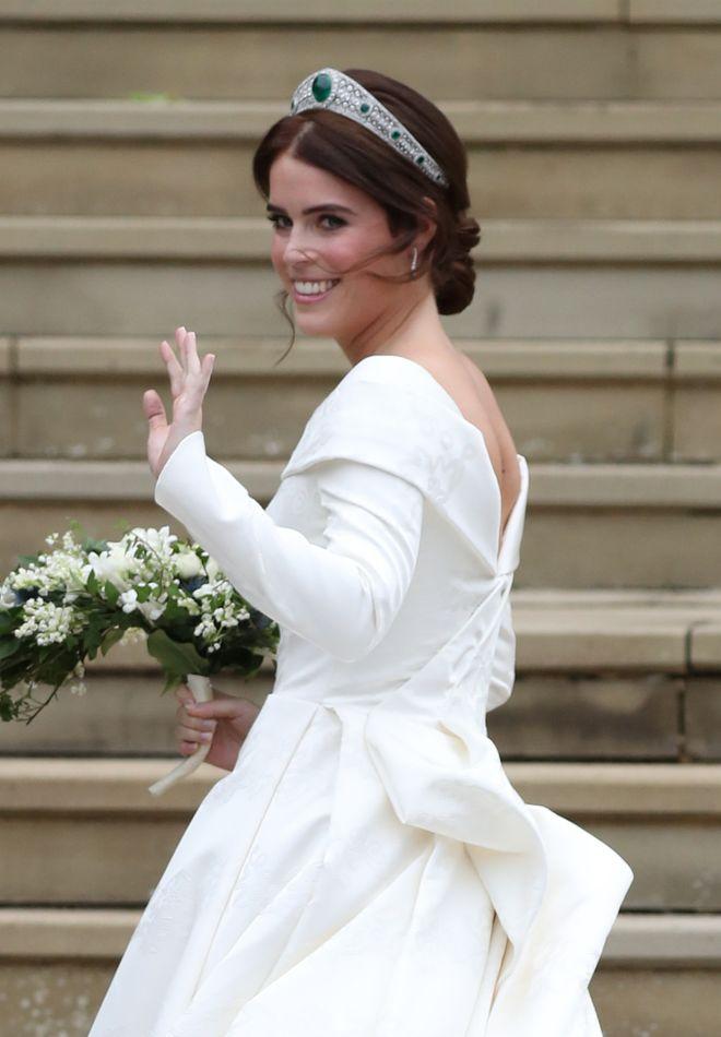 Todos los detalles de la boda real de la princesa Eugenia y Jack Brooksbank