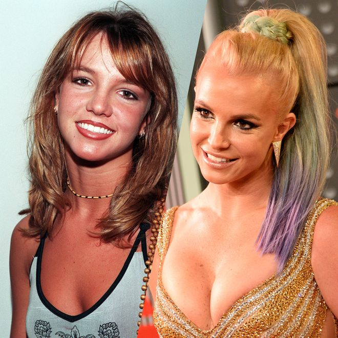 The evolution of Britney Spears' beauty
