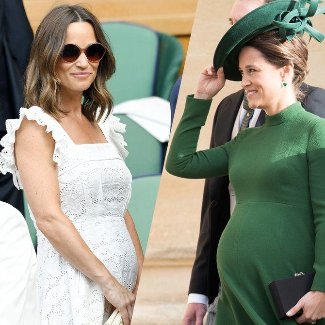 Les looks de grossesse de Pippa Middleton