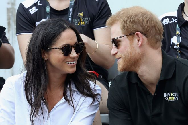 Meghan and Harry's first date