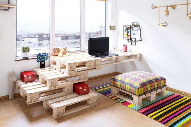 30 id es de meuble en palette pour une d co originale album photo aufeminin - Trouver des meubles de salon pour vous ...