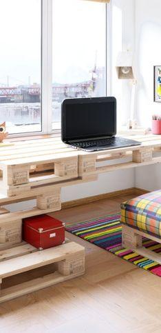 30 meubles en palette pour s'inspirer et décorer sa maison