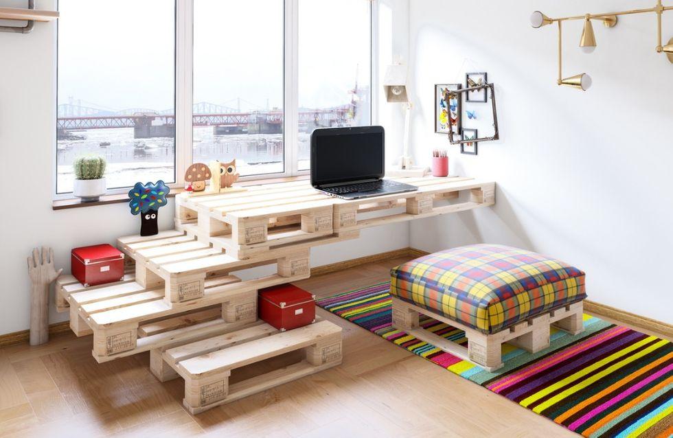 30 idées de meuble en palette pour une déco originale ...