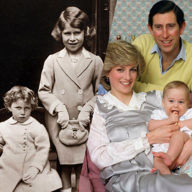Bébés royaux : découvrez les premiers portraits de la famille royale d'Angleterre