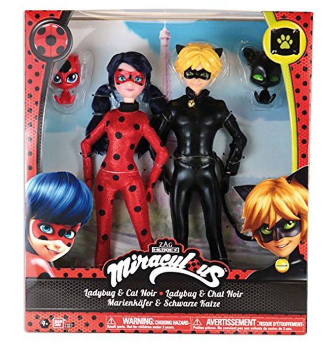 Pack 2 poupées Miraculous - Chat noir
