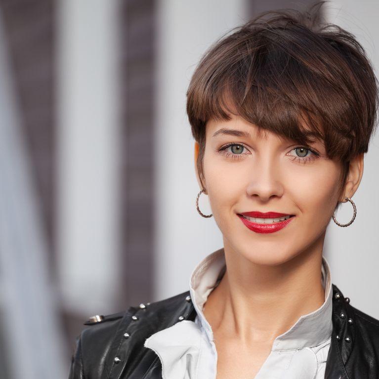 50 Ideas De Peinados Para Pelo Corto Foto Enfemenino
