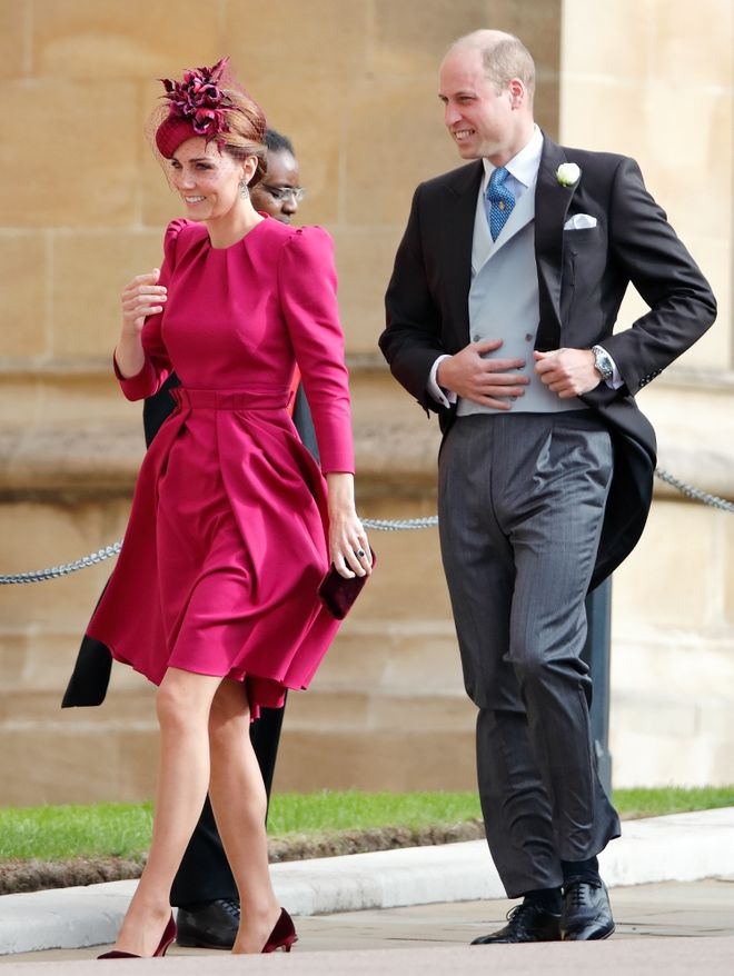 En la boda de Eugenia de York - octubre de 2018