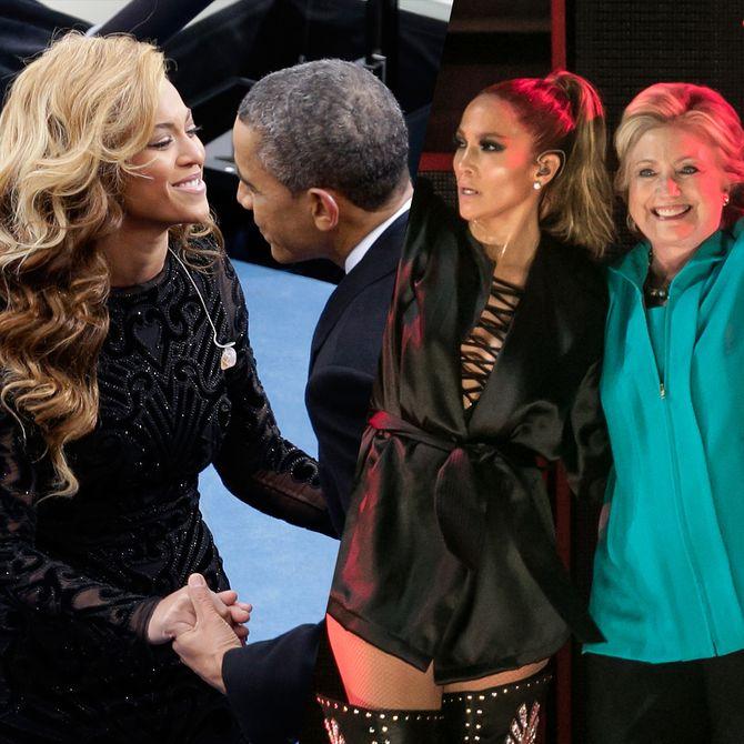Quand les stars se lient d'amitié avec les personnalités politiques