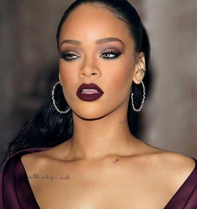 Tendencia maquillaje burgundy