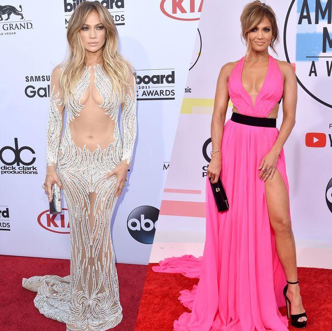 Retour sur les looks sexy de Jennifer Lopez