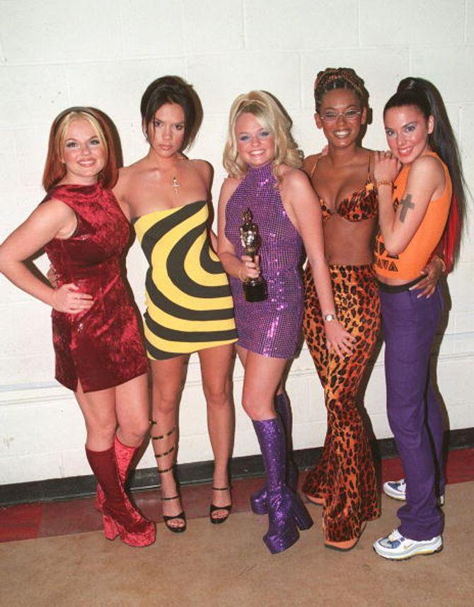 Tu también querías copiar el estilo de las Spice Girls y lo sabes.
