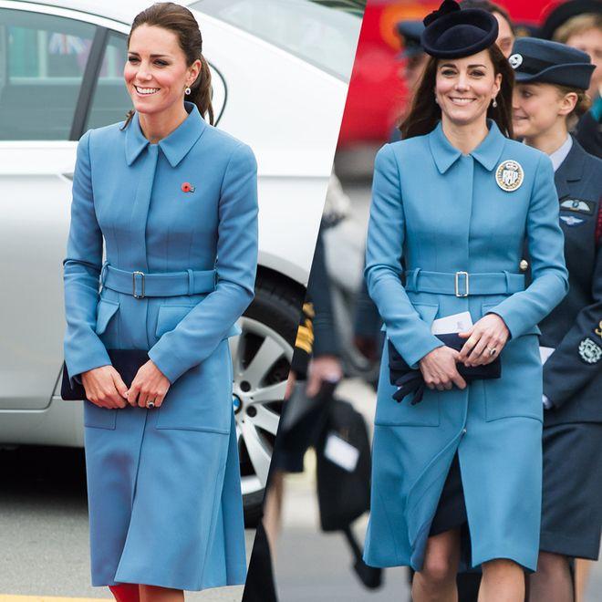 Kate Middleton: tutte le volte che ha re-indossato lo stesso outfit!