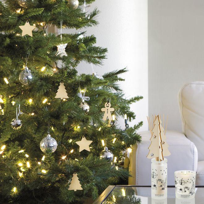 Une décoration de Noël en bois