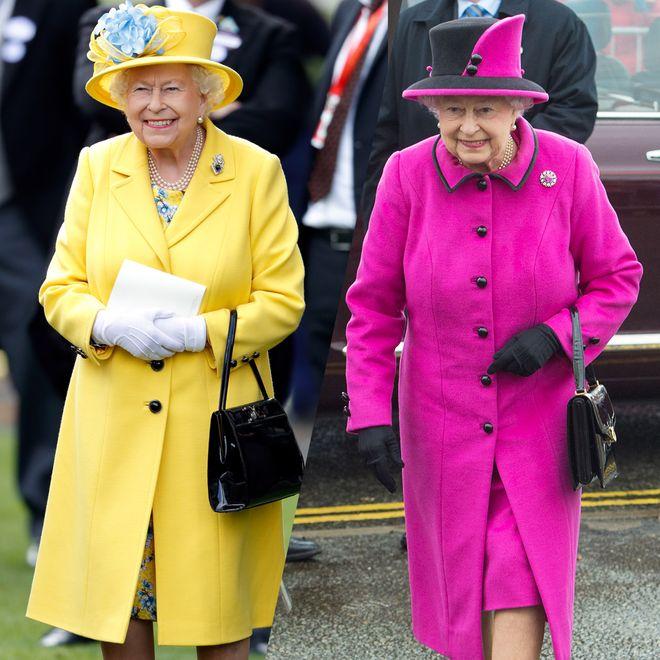 Les looks uniques de la reine Elizabeth II