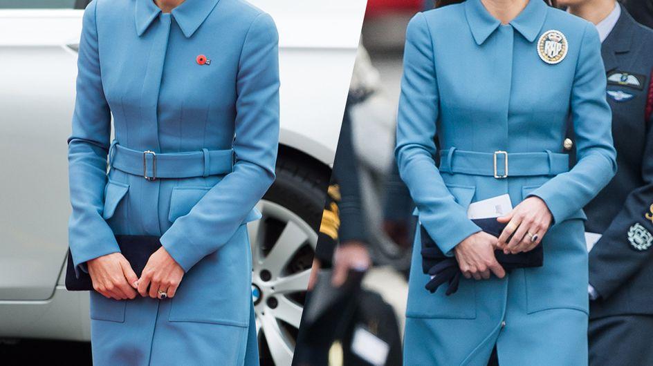 Los looks repetidos de Kate Middleton