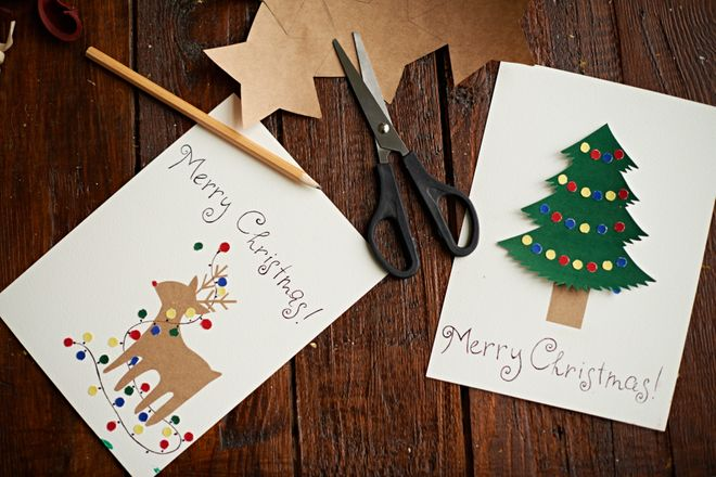 Biglietti Di Natale Fai Da Te.Biglietti Di Natale Fai Da Te Le Idee Piu Belle E Originali
