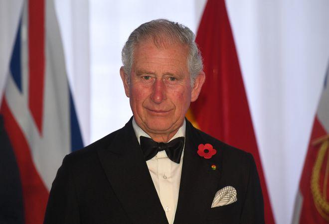 Prinz Charles während eines Galadinners am 5. November 2018