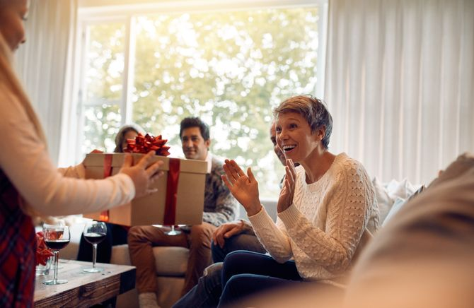 Regali natalizi per la mamma
