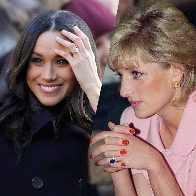 Les plus belles bagues de fiançailles de la famille royale d'Angleterre