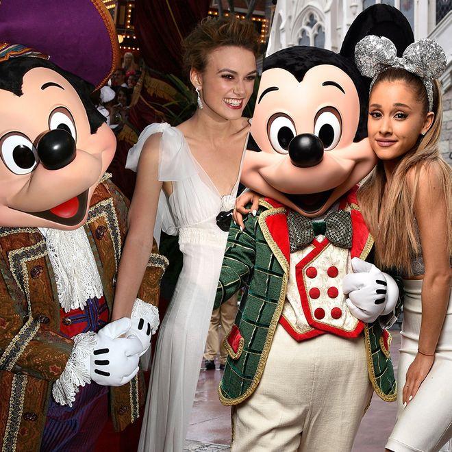 Les stars et Mickey