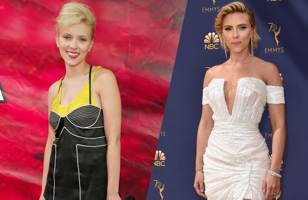 Découvrez l'évolution mode de Scarlett Johansson