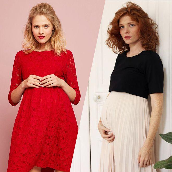 Les plus belles robes de Noël pour femmes enceintes