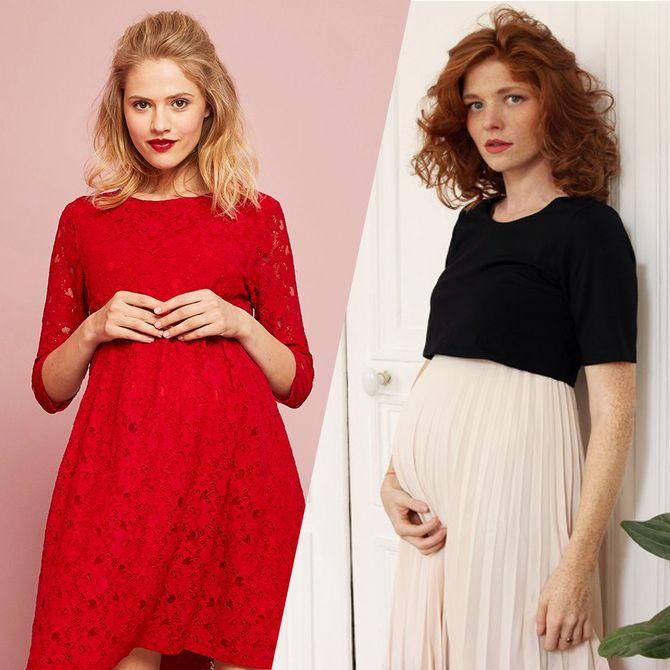 Les plus belles robes de soirée pour femmes enceintes