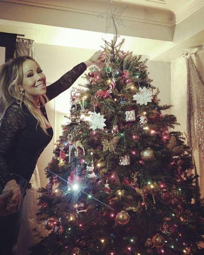 Wie die Stars Weihnachten feiern