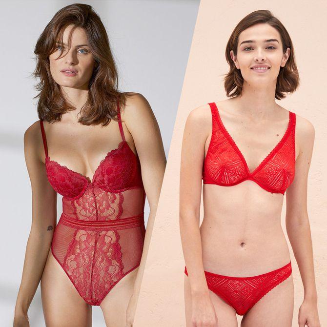 Les plus beaux modèles de lingerie rouge