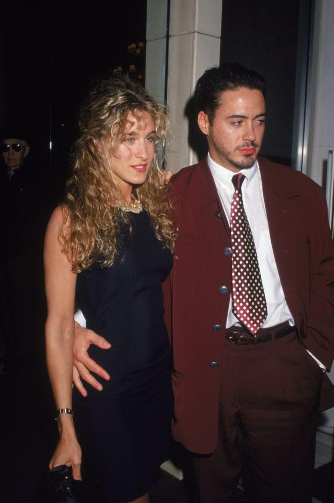 Sarah Jessica Parker y Robert Downey Jr - Parejas de famosos que no recordabas